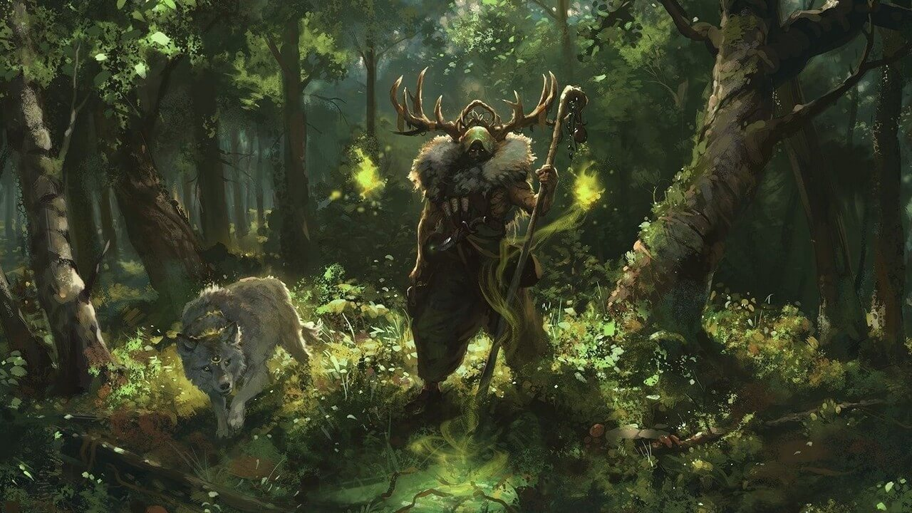 Dungeons and Dragons Druid Wild Shapes