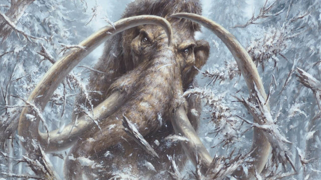 Dungeons and Dragons Mammoth