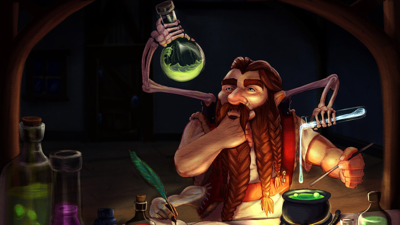 Dungeons and Dragons Potions